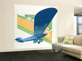 Aerodrome Wall Mural – Large by Brian James