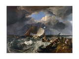 Calais Pier: an English Packet Arriving, C.1802 Giclee Print by Joseph Mallord William Turner
