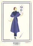 Robe de Soir Serigraph by  Erte