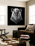 Black Panther Vægplakat i topklasse af Lisa Kroll