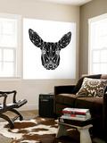 Black Baby Deer Wall Mural by Lisa Kroll