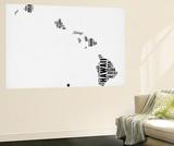 Hawaii Word Cloud 2 Wall Mural by  NaxArt