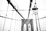 Cables Suspended from the Brooklyn Bridge Photographic Print by Kike Calvo