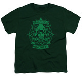 Youth: Arrow - Archer Illustration T-Shirt