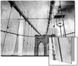 The Cables on the Brooklyn Bridge Art by Kike Calvo