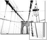 Cables Suspended from the Brooklyn Bridge Prints by Kike Calvo