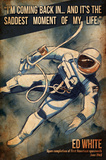 Ed White First Space Walk Posters by  Lynx Art Collection