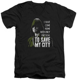 Arrow - Save My City V-Neck T-Shirt