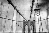 The Cables on the Brooklyn Bridge Photographic Print by Kike Calvo