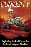 Mars Curiosity Rover Posters by  Lynx Art Collection