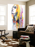 Sunshower Premium Wall Mural by Agnes Cecile