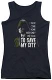 Juniors Tank Top: Arrow - Save My City T-shirts