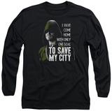Long Sleeve: Arrow - Save My City T-Shirt