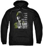 Hoodie: Arrow - Save My City Pullover Hoodie