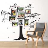 Family Photo Tree - Duvar Çıkartması