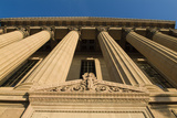 Greek Revival Architecture of the West Entrance of the Philadelphia Museum of Art Photographic Print by Richard Nowitz
