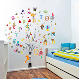 Photo Frame Tree & Letters ウォールステッカー