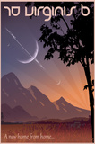 70 Virginis B Space Travel Posters by  Lynx Art Collection