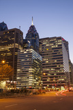 Highrise Office Towers and Hotels in the Downtown Financial District of Philadelphia Photographic Print by Richard Nowitz