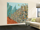 Home in Mind Wall Mural – Large by  HR-FM