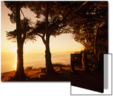 Sunset from Cliffs Above the Pacific Ocean at the Douglas Family Preserve Prints by Macduff Everton