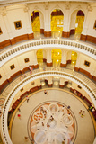 Inside the Rotunda of the Texas State Capitol Building Photographic Print by Will Van Overbeek