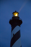The Cape Hatteras Light Pierces the Night Sky with a Beam Photographic Print by Stephen St. John