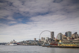 The Seattle Skyline on a Sunny Day Photographic Print by Michael Hanson