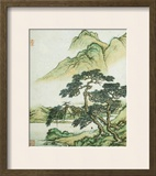Landscape Framed Giclee Print by Cai Jia