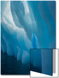 Abstract View of Ice Lit from Outside Posters by Tom Murphy
