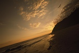 Sunset at Arroyo Burro Beach Photographic Print by Macduff Everton