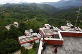 Thrangu Tashi Yangtse Monastery at the Pilgrimage Site Namo Buddha Photographic Print by Jill Schneider
