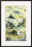 Having Visited Qui Baishi Prints by Nan Rae