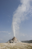 Steamboat Geyser Erupts in Midway Geyser Basin Photographic Print by Stacy Gold