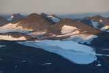 A Scenic View of the Lkatj Mountains from Atop Mount Vuoinestjaakkaa Photographic Print by Orsolya Haarberg