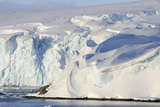 Glacier Next to the American Research and Science Base of Palmer Station on Anvers Island Photographic Print by Rich Reid