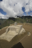 The Intihuatana Stone at Machu Picchu Photographic Print by Jim Richardson