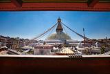 Kathmandu, Nepal: Boudhanath Stupa in Kathmandu Photographic Print by Ben Horton