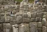 The Massive Stone Walls of Cuzco Photographic Print by Jim Richardson