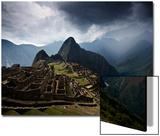 The Pre-Columbian Inca Ruins of Machu Picchu Posters by Jim Richardson