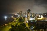 Downtown Lima at Night Fotografisk trykk av Jim Richardson