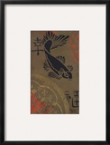 Koi Shield I Framed Giclee Print by  Hakimipour-ritter