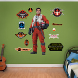 Star Wars: Episode VII - Poe Wall Decal