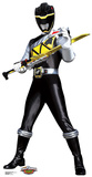 Black - Power Rangers Dino Charge Lifesize Standup Cardboard Cutouts