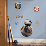 Star Wars: Ep VII BB-8 Peel & Stick Giant Wall Decal Wall Decal