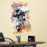 Star Wars: Ep VII Flametrooper Peel & Stick Wall Graphic Autocollant