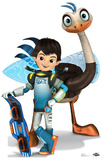 Miles And Merc - Disney's Miles From Tomorrowland Lifesize Standup Cardboard Cutouts
