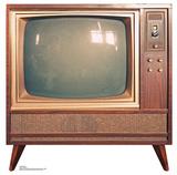Vintage TV Lifesize Standup Cardboard Cutouts