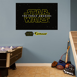 Star Wars: Episode VII The Force Awakens Logo Mural Wall Mural