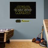 Star Wars: Episode VII The Force Awakens Logo Mural Wall Mural